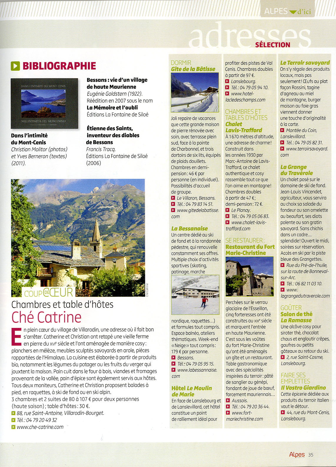 aRTICLE aLPES mAGASINE 1